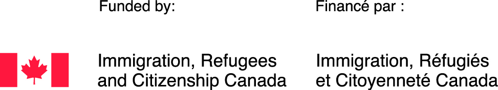 The logo for Immigration, Refugees and Citizenship Canada